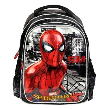 Spider-Man Okul Çantası Renkli